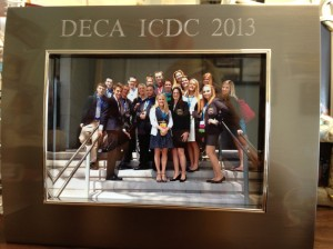DECA Framed Picture