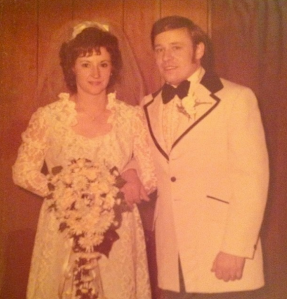 My mom & dad celebrated 40 years of marriage on January, 19th!