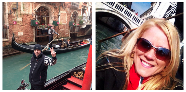The gondola ride: best part of Venice!